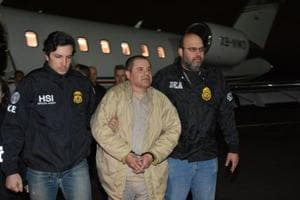 Mexican drug lord 'El Chapo' Guzman sent off to US prison that held...