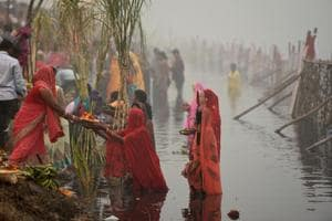 MCD polls: Delhi govt announces funds for permanent Chhath ghats to...
