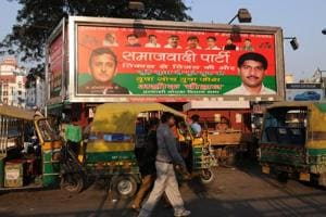 The district electoral officer orders removal of hoardings, billboards and posters in Noida.