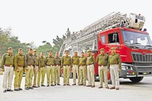 Noida firemen's 60-second response helped rescue 250 people trapped by...