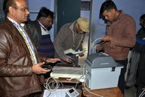Greater Noida: Model polling stations set up in district