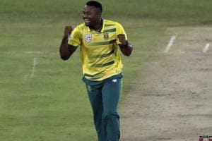 South Africa beat Sri Lanka in rain-affected Twenty20 International in...