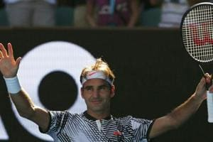 Australian Open: Roger Federer's comeback continues against Kei...
