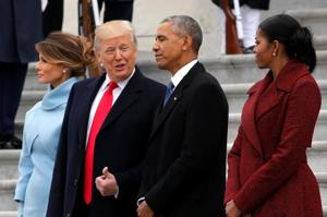 Donald Trump takes oath as the 45th US President, stresses his...