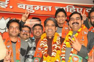 UP Polls: BJP hands Noida ticket to Rajnath's son