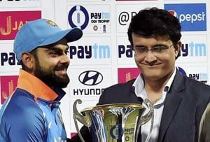 Virat Kohli says Kolkata pitch 'perfect scenario' for Champions Trophy...