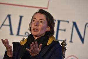 You don't want to lose friends over a book: British author Emma Sky at JLF 2017