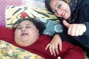 Mumbai surgeon visits world's heaviest woman in Egypt