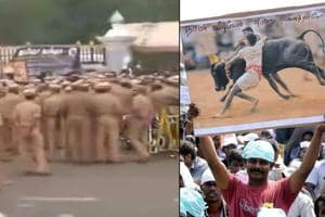 The Tamil Nadu police attempted to forcefully evict hundreds of people...