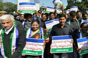 Andhra opposition calls for protests to renew demand for special...