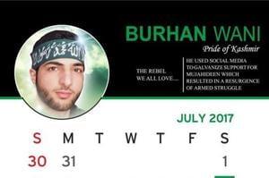 In Kashmir, 'resistance' calendar counters J-Kgovt by honouring...