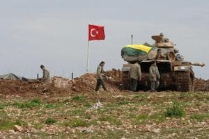 Turkish military says killed 65 Islamic State militants in Syria