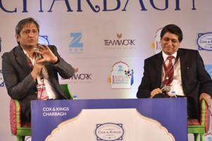 Was Akbar progressive? Ravish Kumar asks novelist Shazi Zaman at JLF 2017
