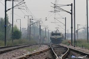 Train accident 'averted' after stone slabs found on railway track in...