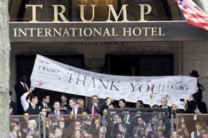Inaugural festivities at Trump hotel highlight ethics concerns
