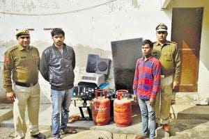 Two held for burglaries of residences in upscale areas of Gurgaon