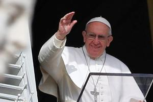 Pope Francis says will 'wait and see' about US president Trump, his...