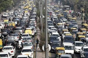 Ahead of the Republic Day full dress rehearsal, the traffic movement...