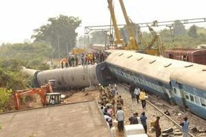 NIA visits Hirakhand train derailment site in Andhra Pradesh, toll...