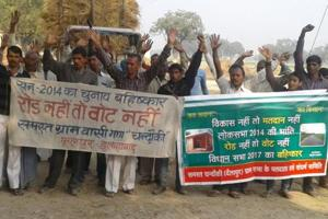 No road, no vote: Villagers tell candidates