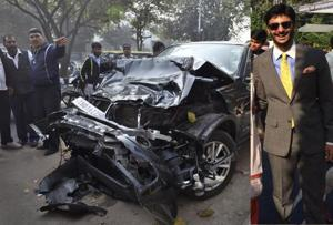Delhi accident: Speeding BMW was hurtling at 100-125 km/hr, accused...