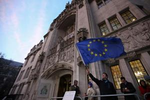 UK can't trigger Brexit without an act of parliament, says Supreme...