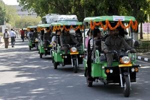 The administration is also going to promote the use of e-rickshaws in the city.