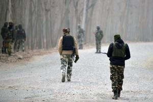 Encounter breaks out between militants, security forces in Kashmir's...