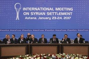 Russia, Iran, Turkey agree to push for Syria ceasefire after Astana...