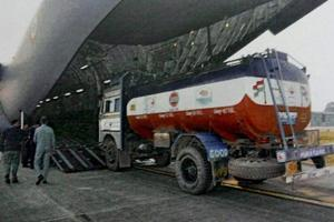 Armed militants attack convoy of trucks, oil tankers along...