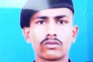 The Indian Army soldier was released by Pakistan after he strayed across the LoC.