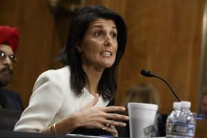 Indian-American Nikki Haley confirmed as US envoy to United Nations