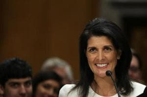 US Senate committee clears Trump's nominee Nikki Haley for UN...