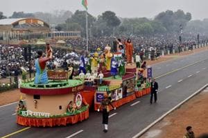 Modi-fied Republic Day: PM's pet schemes on display at parade