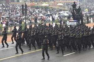 Air Force, commandos add surprise to the splendour  of Republic Day parade