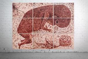 Breaking the taboo: Art that bleeds the beauty of menstrual blood