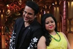Standup comedian Bharti Singh and Krushna Abhishek have been co-hosts for Comedy Nights Bachao.
