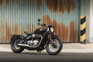 Bonneville Bobber is undoubtedly one of the most beautiful bikes in Triumph's current line-up. But the real party piece is its rear end