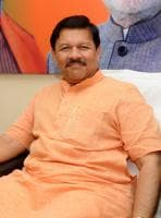 '(Letting Cong turncoats join) helps strengthen the party: BJP's Shyam Jaju