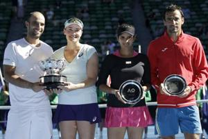 Sania Mirza-Ivan Dodig face defeat in Australian Open mixed doubles final