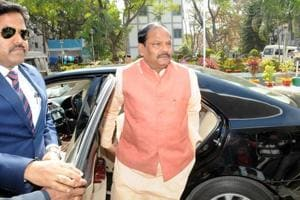 Chief Minister Raghubar Das going to attend the Budget session of the state assembly in Ranchi on Saturday