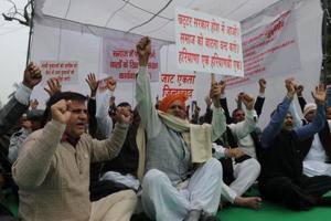 Jat protest begins, no violence in Gurgaon