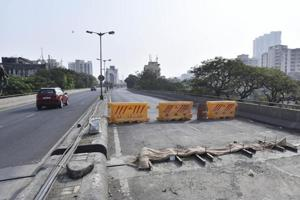 Lalbaug flyover develops crack, is shut for 3rd time in 3 months