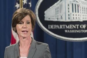 Trump fires acting attorney general for defying 'Muslim ban', names successor