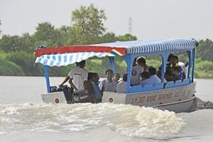 Delhi to Haryana in 45 min as Centre plans water taxis on Yamuna from June