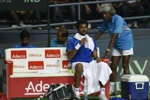 Anand Amritraj may be tempted to use Saketh Myneni in the Davis Cup doubles tie against New Zealand.