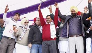 The Income Tax department's report to the poll panel came two days before assembly elections in Punjab and Goa, where the Arvind Kejriwal-led AAP is making a serious bid to capture power.