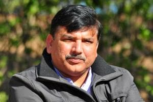 Sanjay Singh, the AAP's Punjab affairs in-charge.