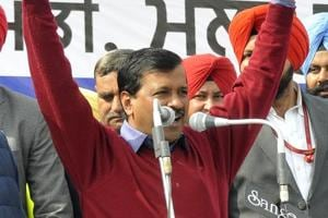 After final campaign ride through Hindu-dominated areas, Kejriwal rubbishes AAP-radical link