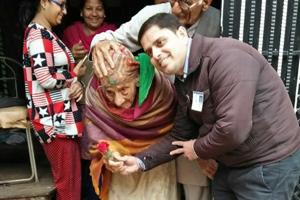 Punjab polls: 106-year-old woman exercises franchise in Ludhiana